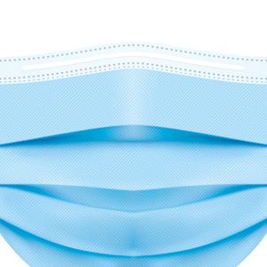 Protective Medical Face Mask - 3ply Disposable Mask - 98% Bacterial Filtration - Perfect For Virus Protection - Box of 50
