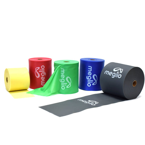 Resistance Bands Rolls 23m And 46m Latex Free Meglio