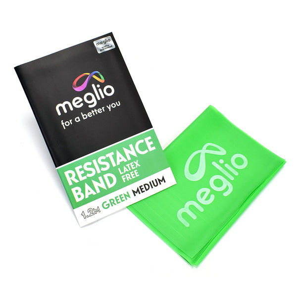Meglio Resistnace and Exercise Band - Green Medium -