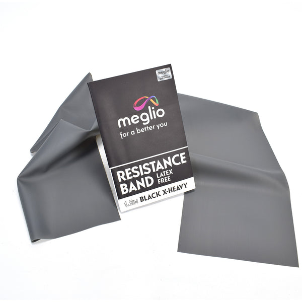 Meglio Black Resistance Band - Gym and Fitness