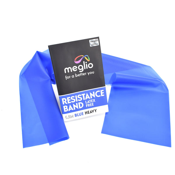 Blue Exercise Band - Perfect for home training and fitness