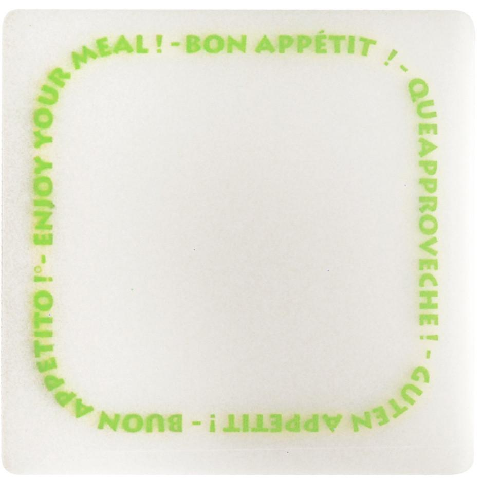 Bon appetit coaster set (6pcs)