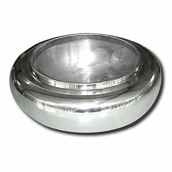 Aluminium round bowl (large) (32cm), Table - Presence
