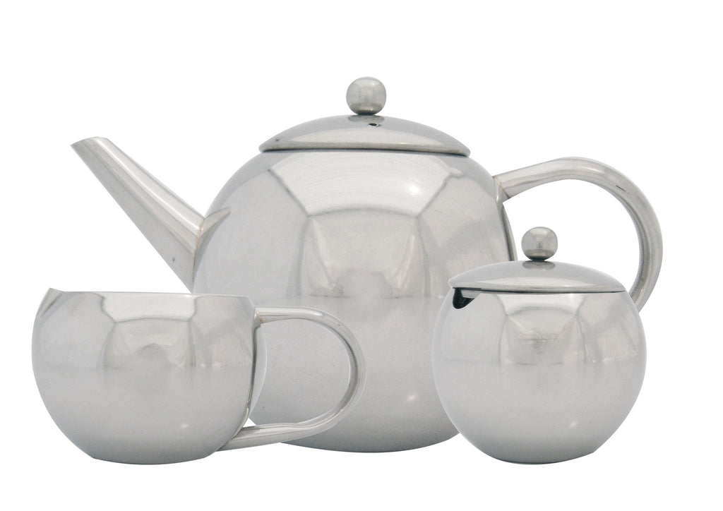 3pc stainless steel tea set, Tea And Coffee - Presence