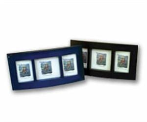 Frame 3x3 black/blue/green/teak