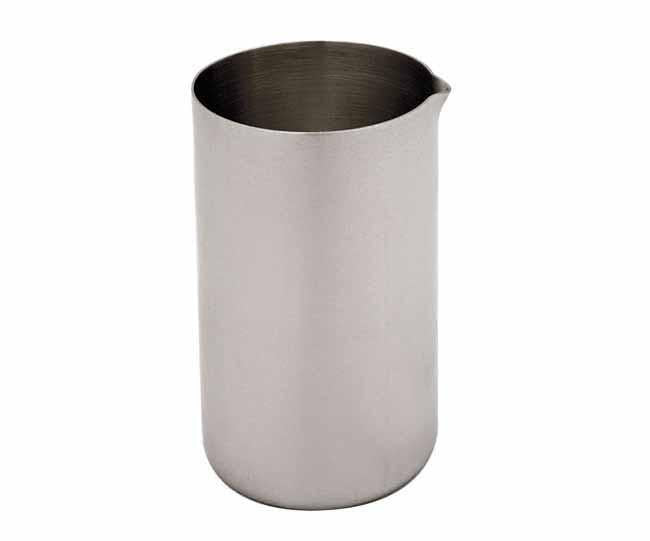 Matt stainless steel milk jug 'vivo'