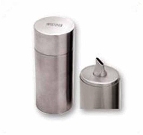 Matt stainless steel sweetener dispenser