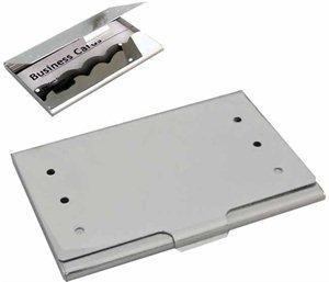 Aluminium business card holder spot