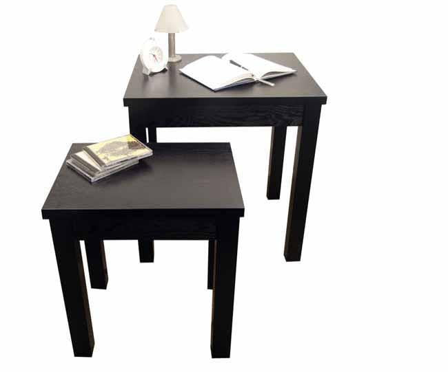 2pc wood nest of tables, Home - Presence