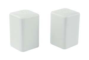 White porcelain salt and pepper shaker set (4 set per box)