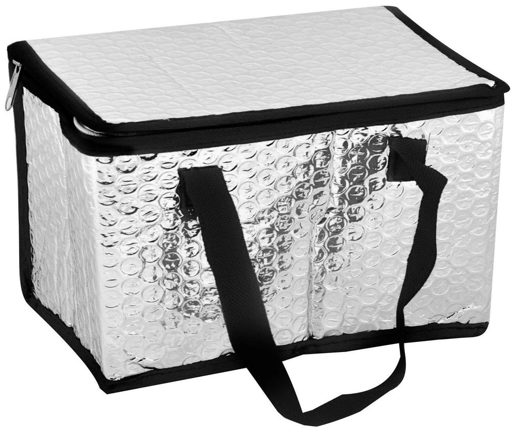 Insulated cooler bag with black trim (large size)