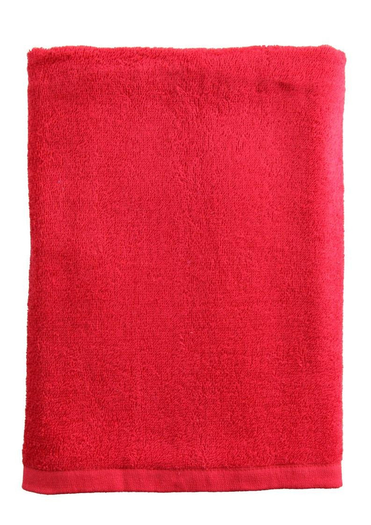 Red beach/pool towel-100% cotton (300g) (138x70cm)