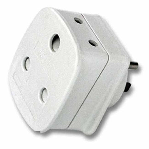 White adaptor for SA visitors to the USA