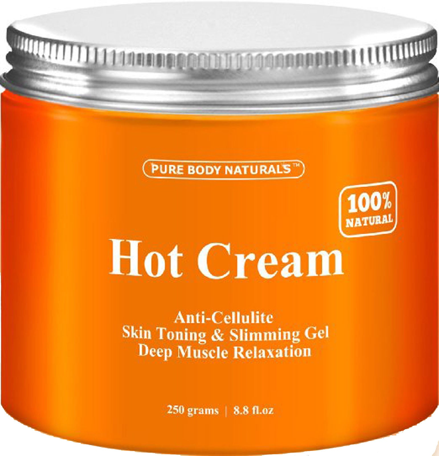 Anti-Cellulite & Muscle Relaxation Cream - 100% Natural