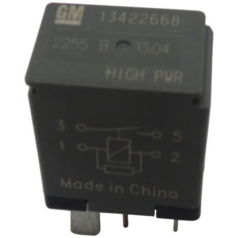 New OEM GM 4-Pin Relay 13422668 High Power 4-Terminal Multi-Use Relay
