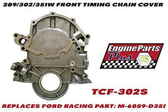 EPP Small Block 289/302/351 Windsor 5.0L 1966-86 Aluminum Timing Cover Replaces Ford Racing Part Number: M-6059-D351