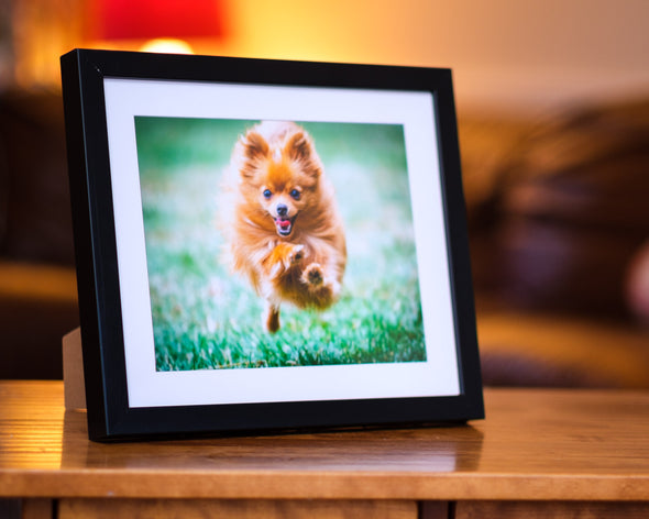 PRINT & FRAME.  RECTANGLE FORMAT.  Your Image Printed Mounted and Framed