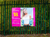 Monster 1.6 Metres Wide : Personalised Celebrational Banner with your Name, Photo & Text