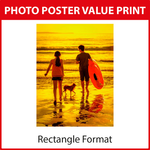 Photo Poster Value Print - Rectangle Format