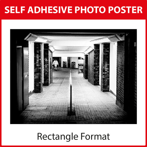 Self Adhesive Photo Poster Print - Rectangle Format