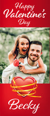 Marry Me?  5 Foot Tall Photo Poster with Your Photo & Text - Printed 5ft / 153cm tall