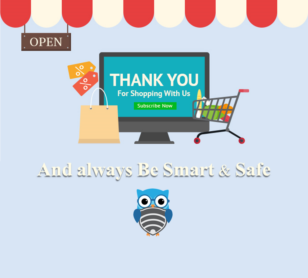 Smart & Safe thank you page