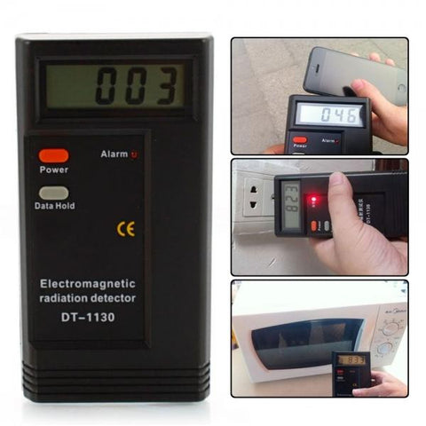 Image of Smart&Safe Electromagnetic radiation tester DT-1130 50Hz-2000MHz Digital Electromagnetic Radiation Detector