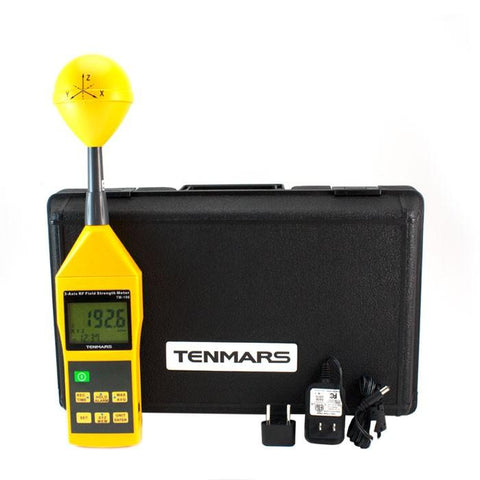 Image of Smart&Safe EMF Solutions Electromagnetic radiation tester TENMARS TM-196 3-Axis RF Field Meter