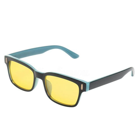 Smart&Safe EMF Solutions Black & Turquoise Mayitr Anti Blue Light Radiation Glasses