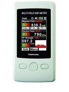 Smart&Safe Radiation Free Products Electromagnetic radiation tester EMF Meter Tenmars TM-190 Multi Field