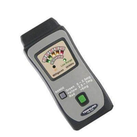 Smart&Safe Radiation Free Products Electromagnetic radiation tester EMF TENMARS TM-760 Mini Gauss Meter (for Electricity Radiation Only)