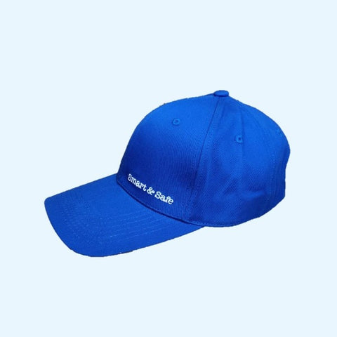 Image of Smart&Safe Radiation Free Products EMF Apparel Royal Blue EMF Shielding Baseball Hat