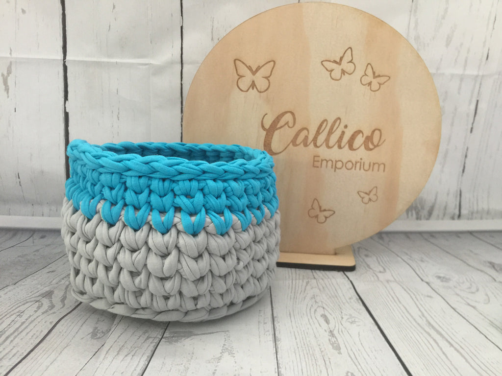Medium Crochet Storage Basket
