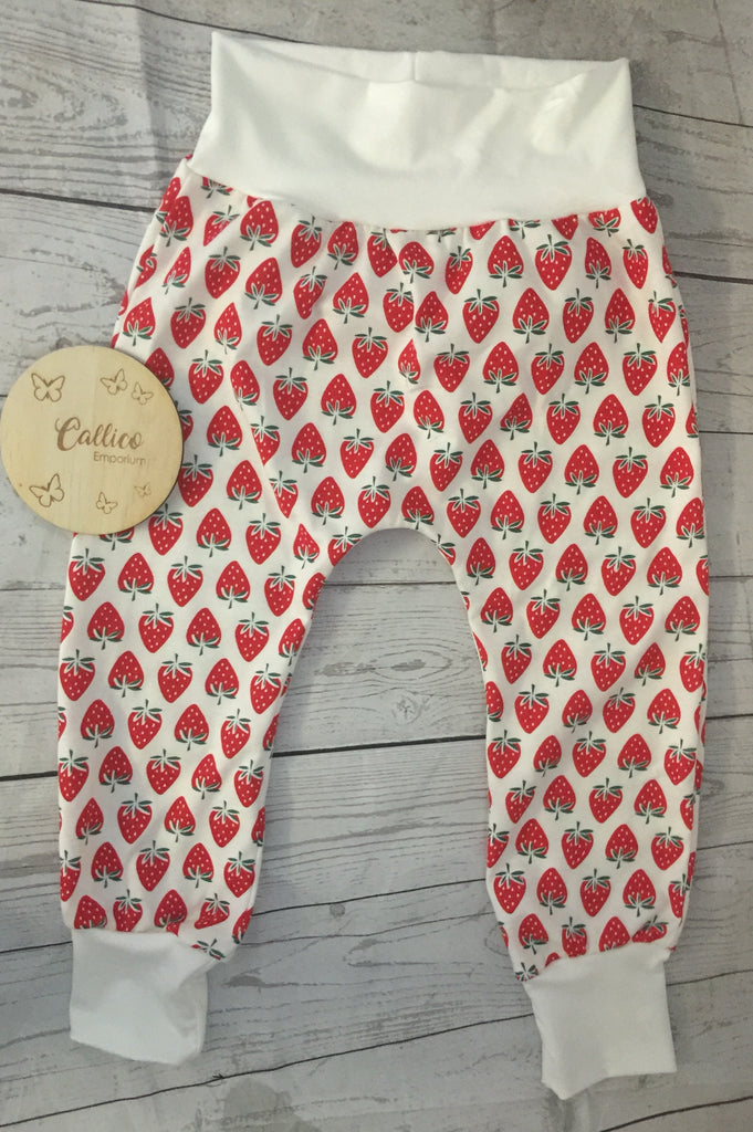 Strawberries Harem Pants