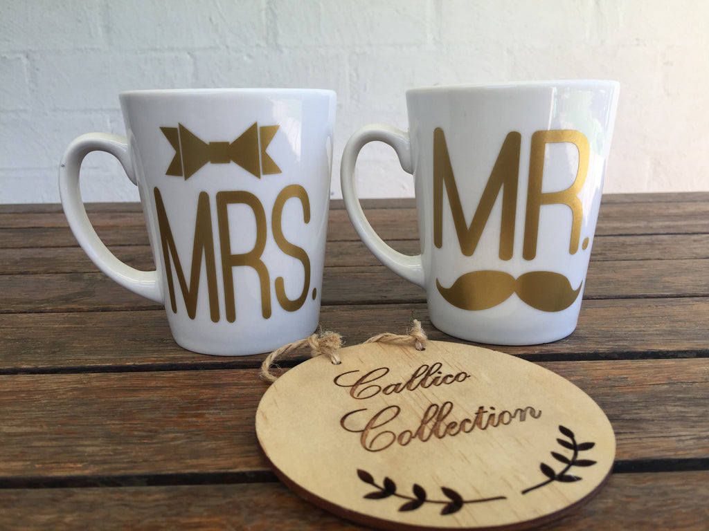 Mr. & Mrs. Mug Set of 2