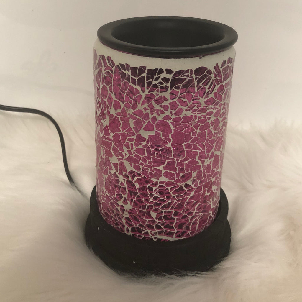 Pink Mosaic Electric Melt Warmer