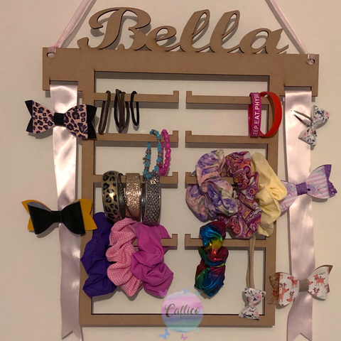 Hair Accessory / Jewellery Holder Plywood