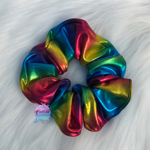 Rainbow Large Scrunchie - Limited Edition!