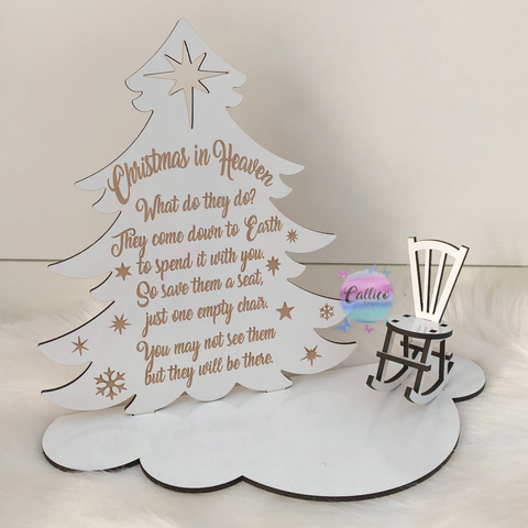 Christmas In Heaven Personalised Set