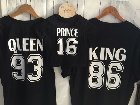 Kids PRINCESS/YEAR Tee