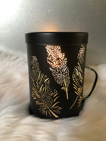 BLACK FEATHER ELECTRIC MELT WARMER
