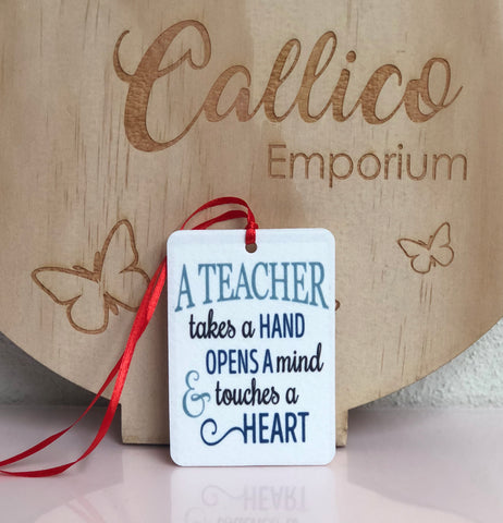 TEACHER - AIR FRESHENER