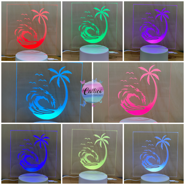 Personalised Acrylic Light