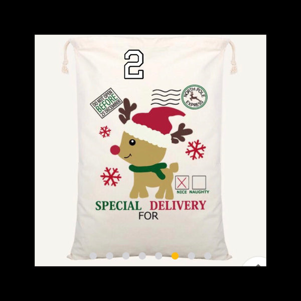2019 PERSONALISED SANTA SACKS