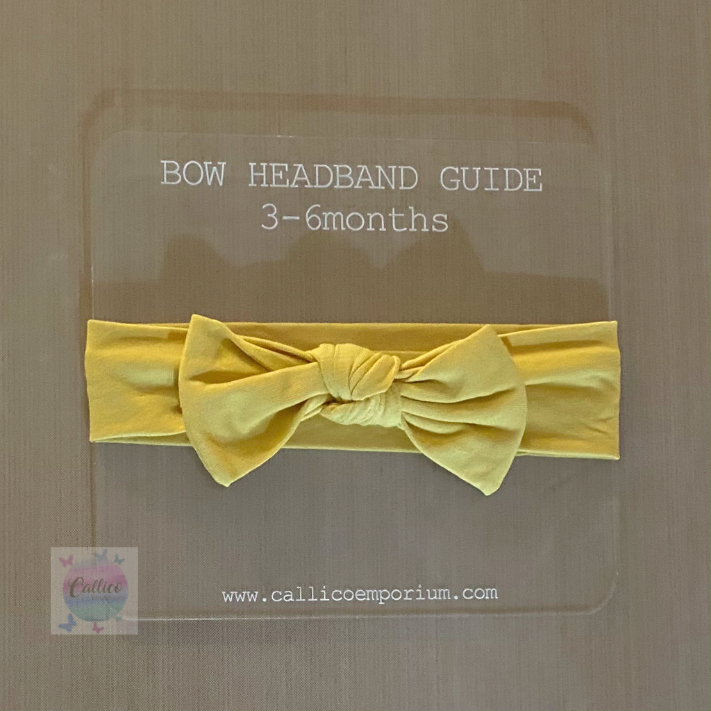 Bow Headband Guides