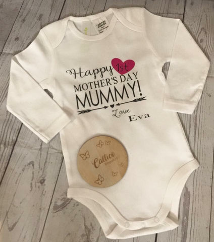 1st Mother's Day Onesie