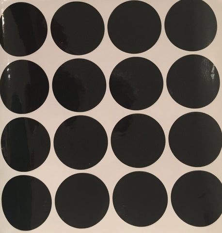 Black Dots Removeable Vinyl Wall Decals