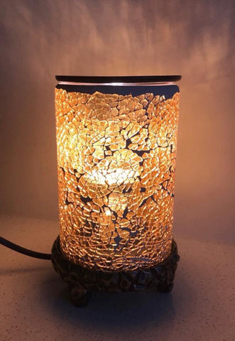 Gold Mosaic Melt Warmer Electric