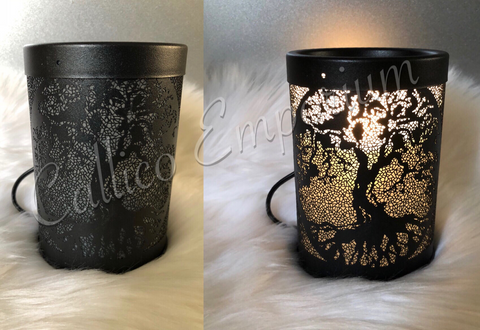 BLACK TREE OF LIFE ELECTRIC MELT WARMER