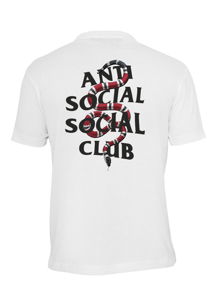 Anti Social Social Club x Gucci Snake Custom T-Shirt